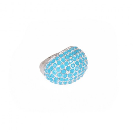 Ring with stones