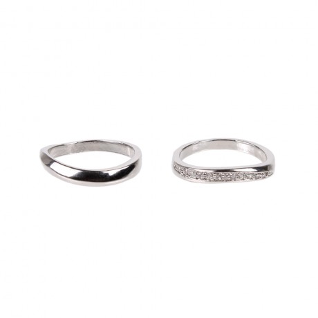 Ring with two rings