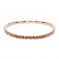 Bracelet with rose strass